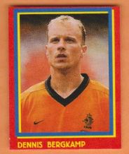 Holland Dennis Bergkamp Arsenal (R)